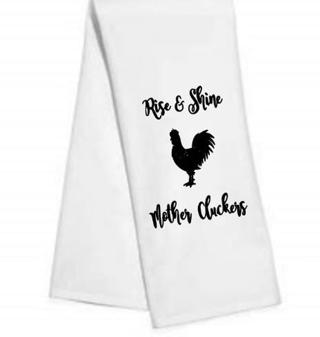 Rise and Shine.....Kitchen/Bar Towel