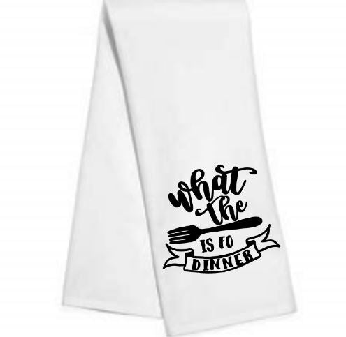 What the.....Kitchen/Bar Towel