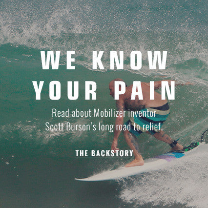 Read about Mobilizer inventor Scott Burson's long road to relief.