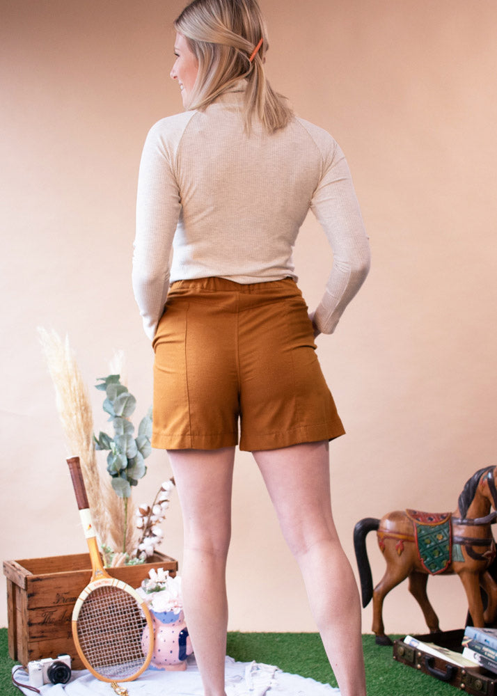 Merrylegs Shorts | High Waist Silk Shorts - Street and Saddle