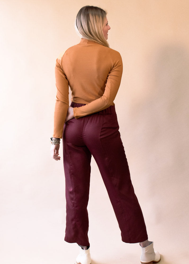 Clydesdale | Lyocell Twill Dress Pants, Street_and_Saddle, vancouver_plus_size_holiday_ethical_fashion_womens