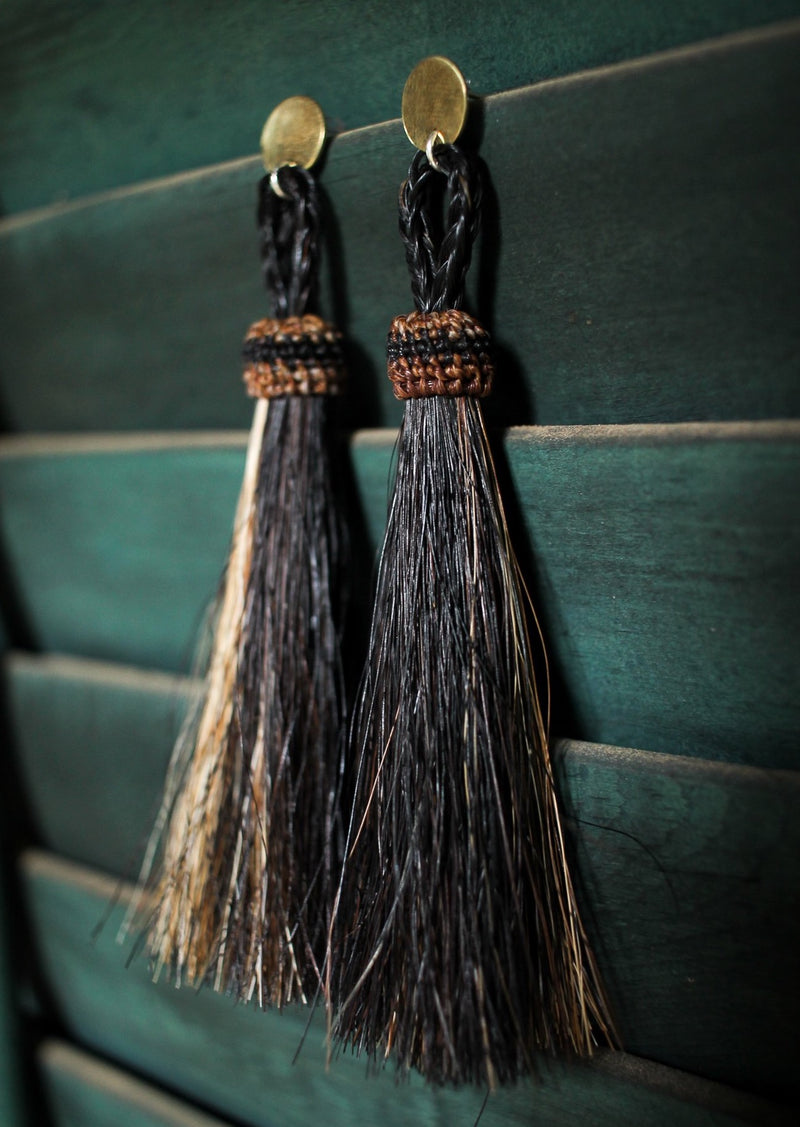HorseFeathers | Tassel Earrings, Street_and_Saddle, vancouver_plus_size_holiday_ethical_fashion_womens