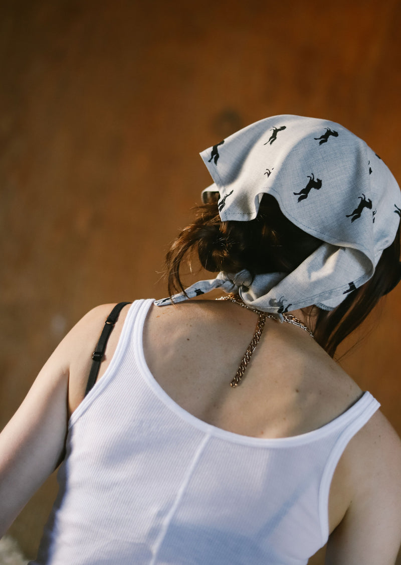 Milton Menasco | Riding Bandana, Street_and_Saddle, vancouver_plus_size_holiday_ethical_fashion_womens