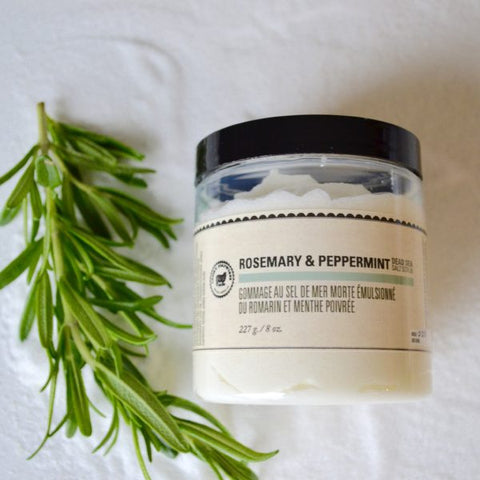 Rosemary & Peppermint Dead Sea Salt Scrub