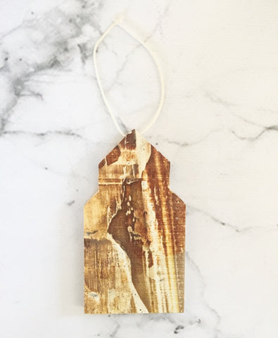 Alberta Grain Elevator Ornament