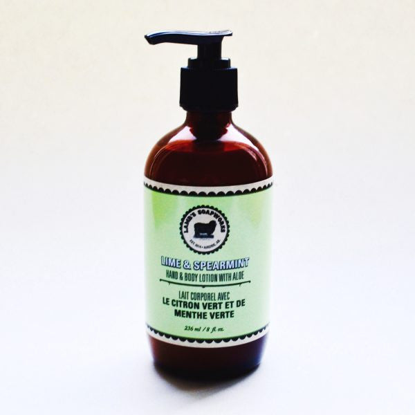 Lime & Spearmint Hand & Body Lotion
