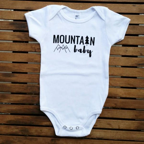 Mountain Baby Onesie