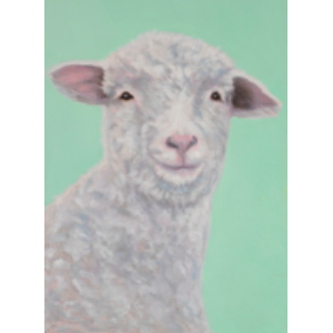 Baa the Sheep Art Print