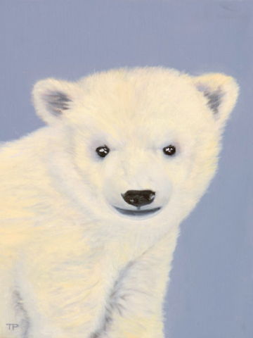 Brrr the Polar Bear Art Print