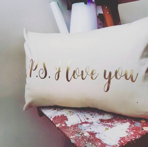 PS I Love You Pillow