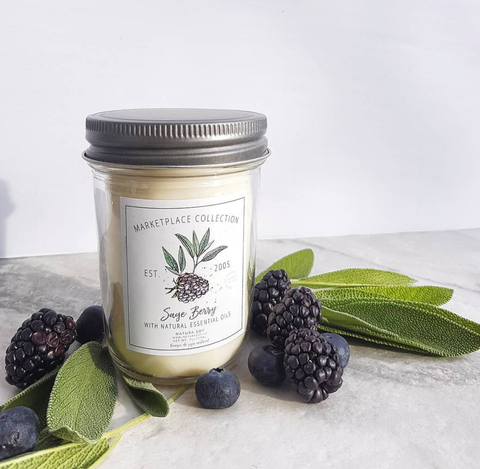 Sage Berry Marketplace Jar