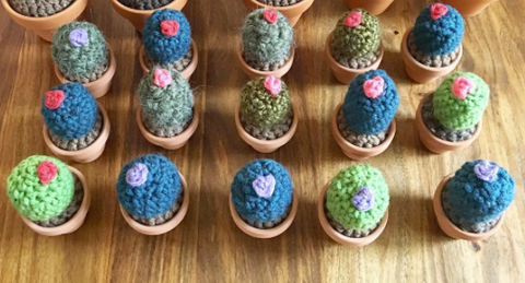 Crochet Cacti Mini