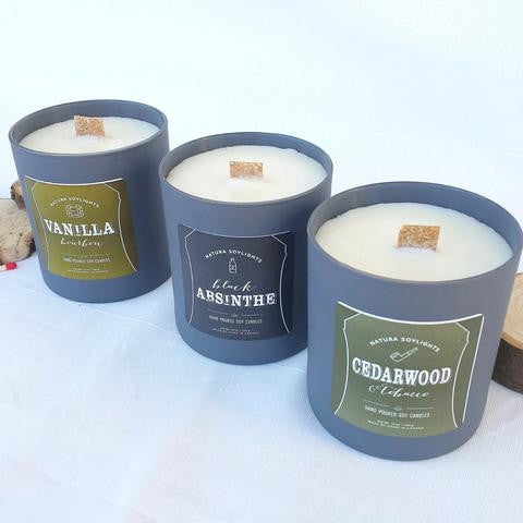 Woodsmoke and Gin Man Candle