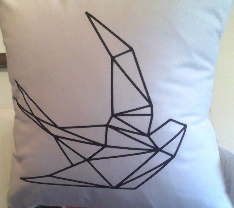 Geo Sparrow Pillow