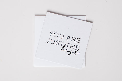 You Are Best Mini Notecard