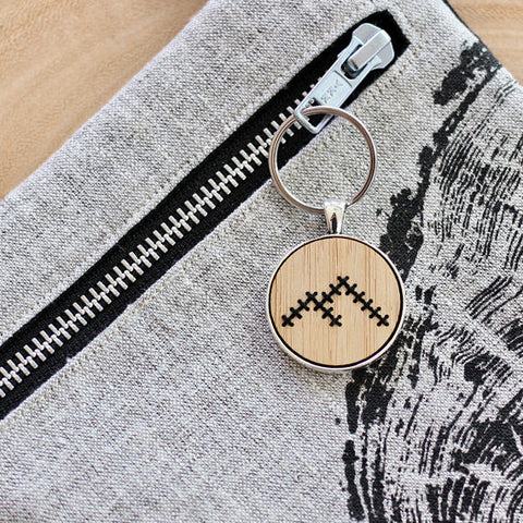 Mountain Keychain DIY Cross Stitch Kit