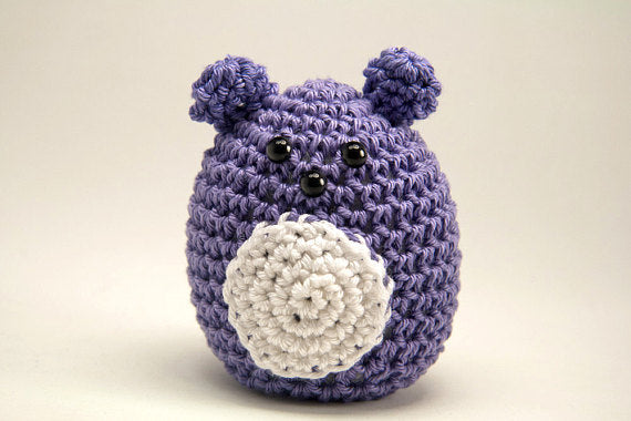 Beach Plum Crochet Mouse