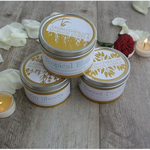 Tropical Bliss Massage Candle