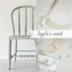 Layla's Mint Milk Paint
