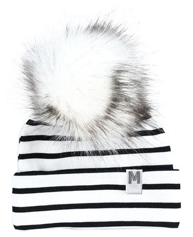 Flip Rim Stripe Toque