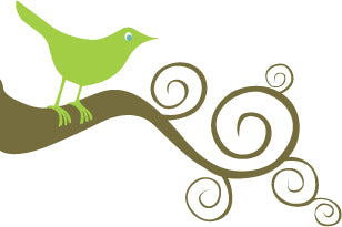 Coastal Cottage Home Bird Logo