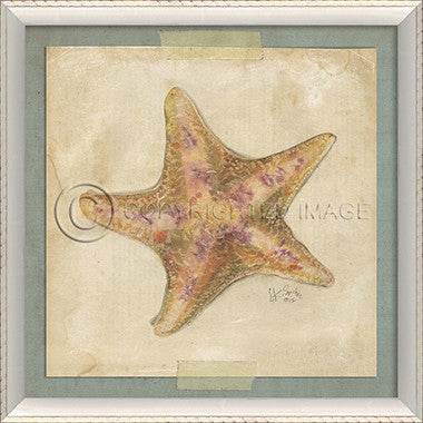 Starfish Art 4 - Coastal Cottage Home
