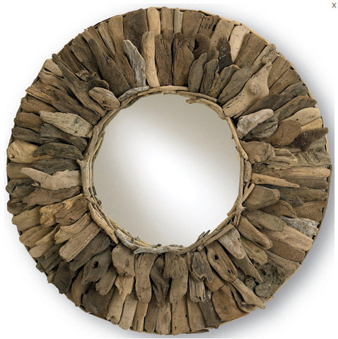 Leeward Round Mirror - Coastal Cottage Home