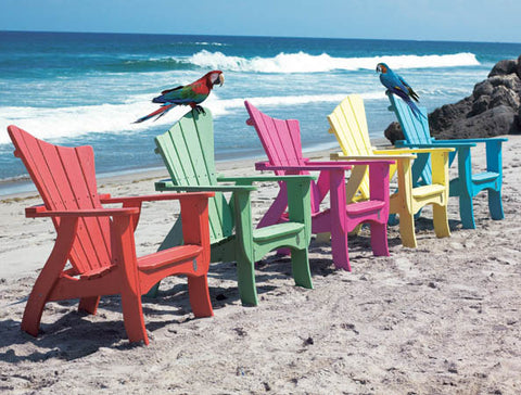 Wave Chair - Coastal Cottage Home