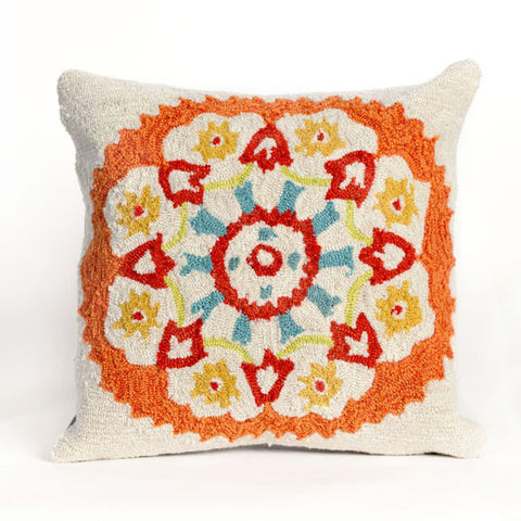 Suzanie Orange Pillow - Coastal Cottage Home