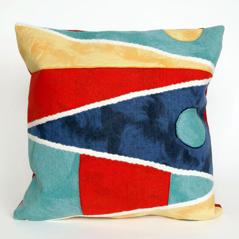 Flags Pillow - Coastal Cottage Home