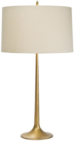 Gabriel Gilded Iron Table Lamp - Coastal Cottage Home