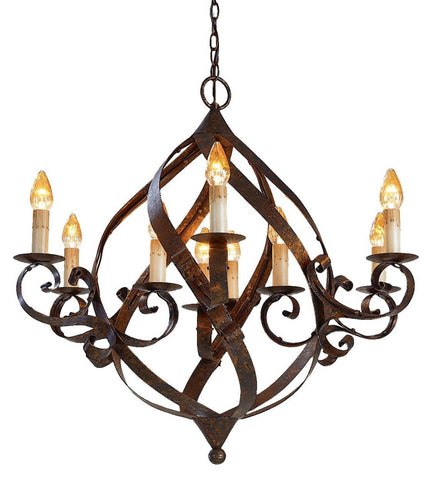 Gramercy Chandelier - Coastal Cottage Home