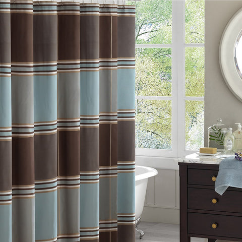 Lincoln Square Shower Curtain - Coastal Cottage Home