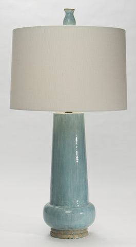Lute Table Lamp - Coastal Cottage Home