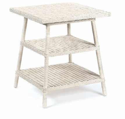 Loft Wicker End Table - Coastal Cottage Home