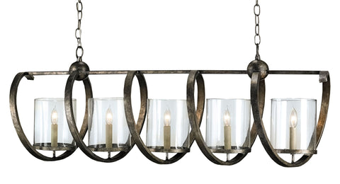 Maximus Rectangular Chandelier - Coastal Cottage Home