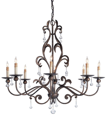 Pompeii Chandelier - Coastal Cottage Home