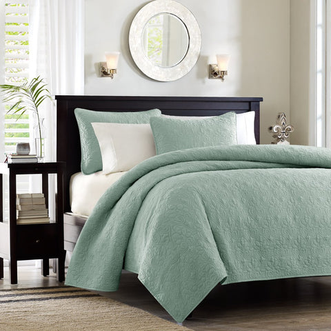 Seafoam Quilt Set - Coastal Cottage Home
