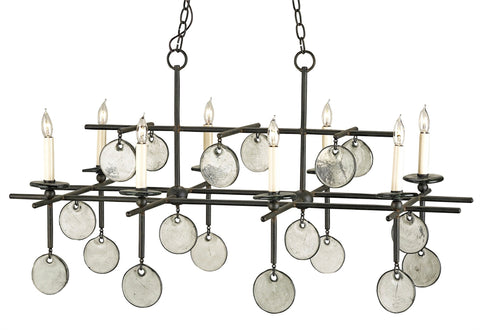 Sethos Rectangular Chandelier - Coastal Cottage Home