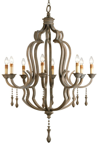 Waterloo Chandelier - Coastal Cottage Home