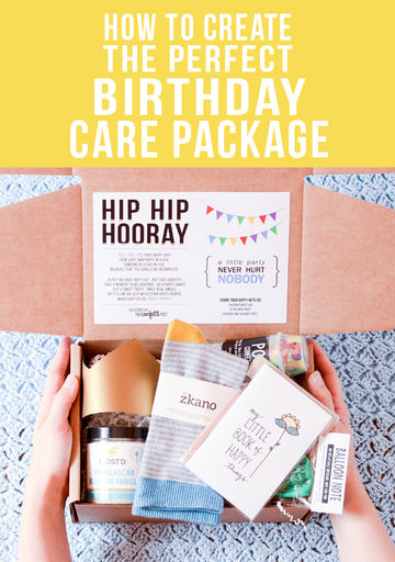 Creating the Perfect Birthday Care Package