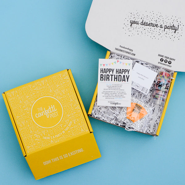 "BUILD YOUR OWN ""Party"" Gift Box"
