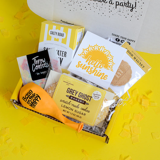Hello Sunshine Cheer Up Gift Box