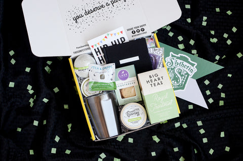 Slytherin Inspired Care Package_Back to Hogwarts Day_Build Your Own Gift Box