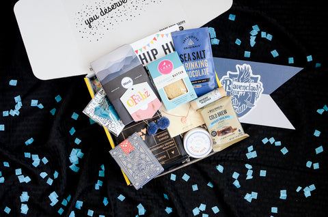 Ravenclaw Inspired Care Package_Back to Hogwarts Day_Build Your Own Gift Box