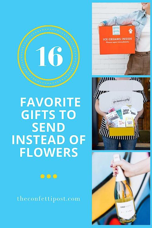 Our Favorite Gifts To Send Instead Of Flowers Happy Tears Guaranteed The Confetti Post