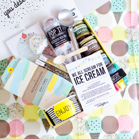 Ice Cream Party Gift Package