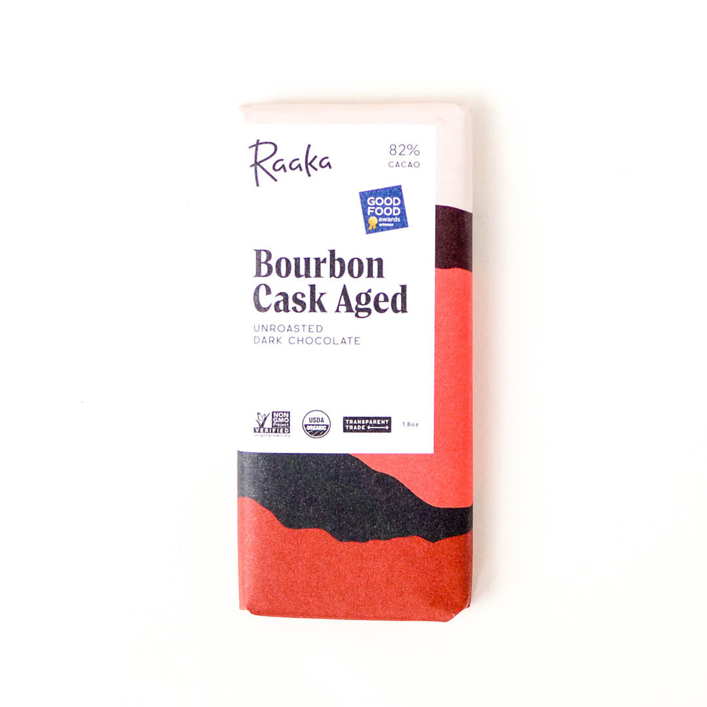 Bourbon Dark Chocolate Bar