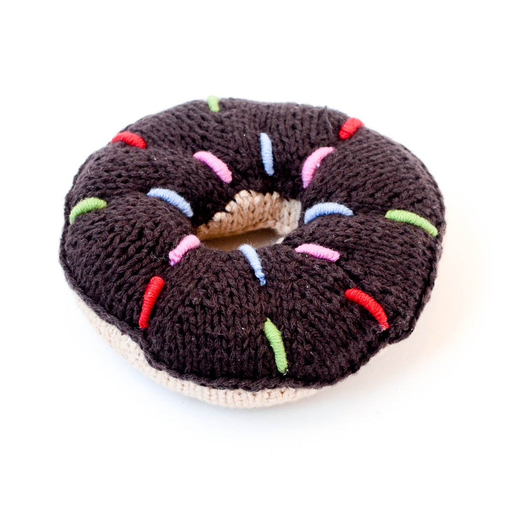 Donut Baby Rattle