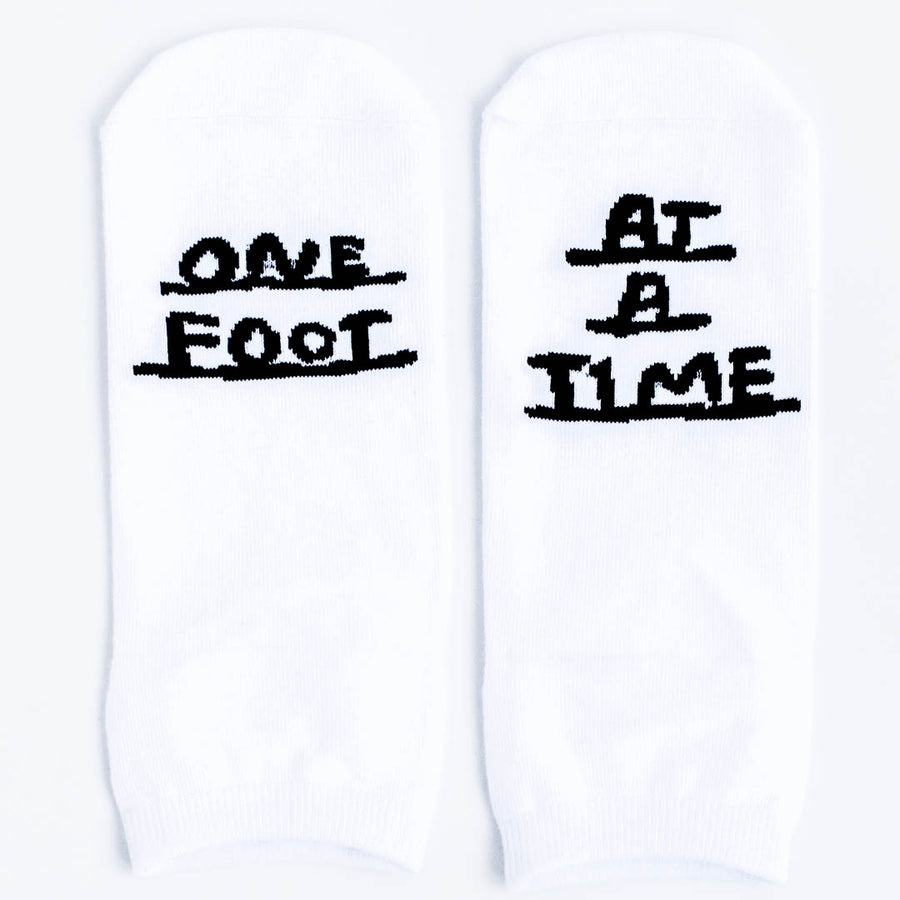 One Foot at a Time_Encouragement Socks_Gift Box Company